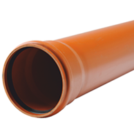 Труба канализационная наружная Evci Plastik PPR 110х2,2мм длина 1м