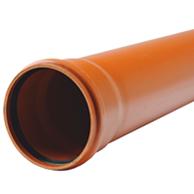 Труба канализационная наружная Evci Plastik PPR 110х2,6мм длина 1м