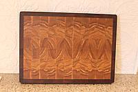 Разделочная доска торцевая  из ценных и экзотических твёрдых пород дерева