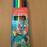 Фломастеры цветные  6 цветов