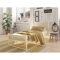 Кровать на деревянных ножках Тенеро Нарцисс Мини Бежевый