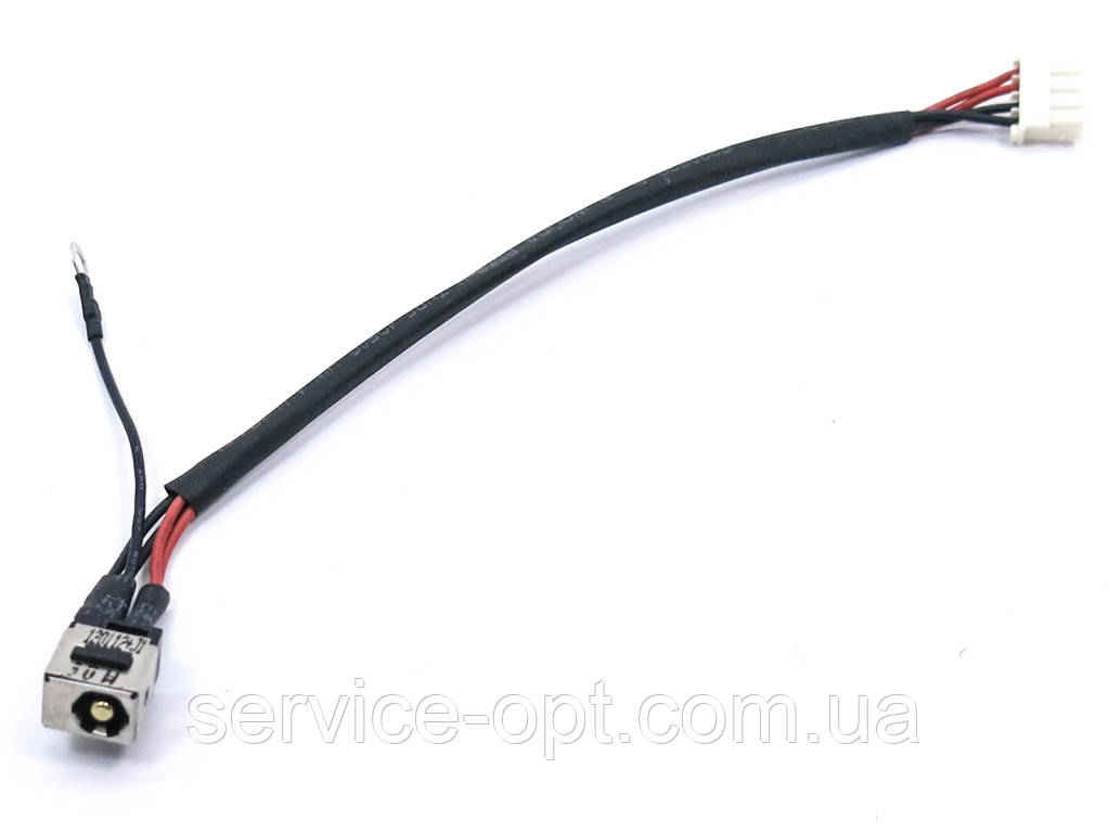 Разъем питания ноутбука FUJITSU LIFEBOOK a532, ah532 (5.5*2.5) с кабелем