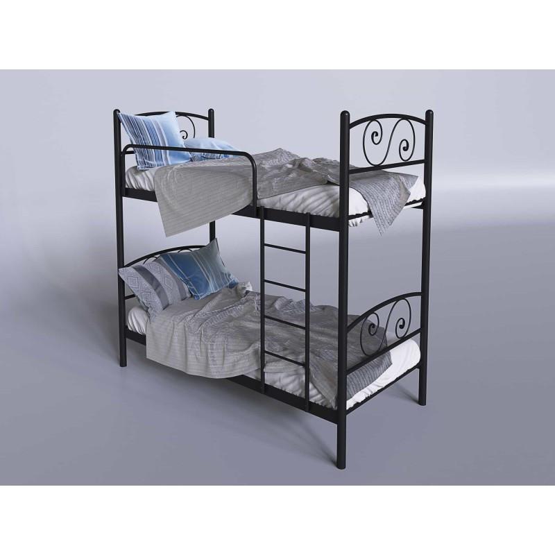 Кровать двухъярусная Тенеро Виола Черный