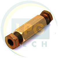Переходник D6 мм – D6 мм (GZ-230), фото 1