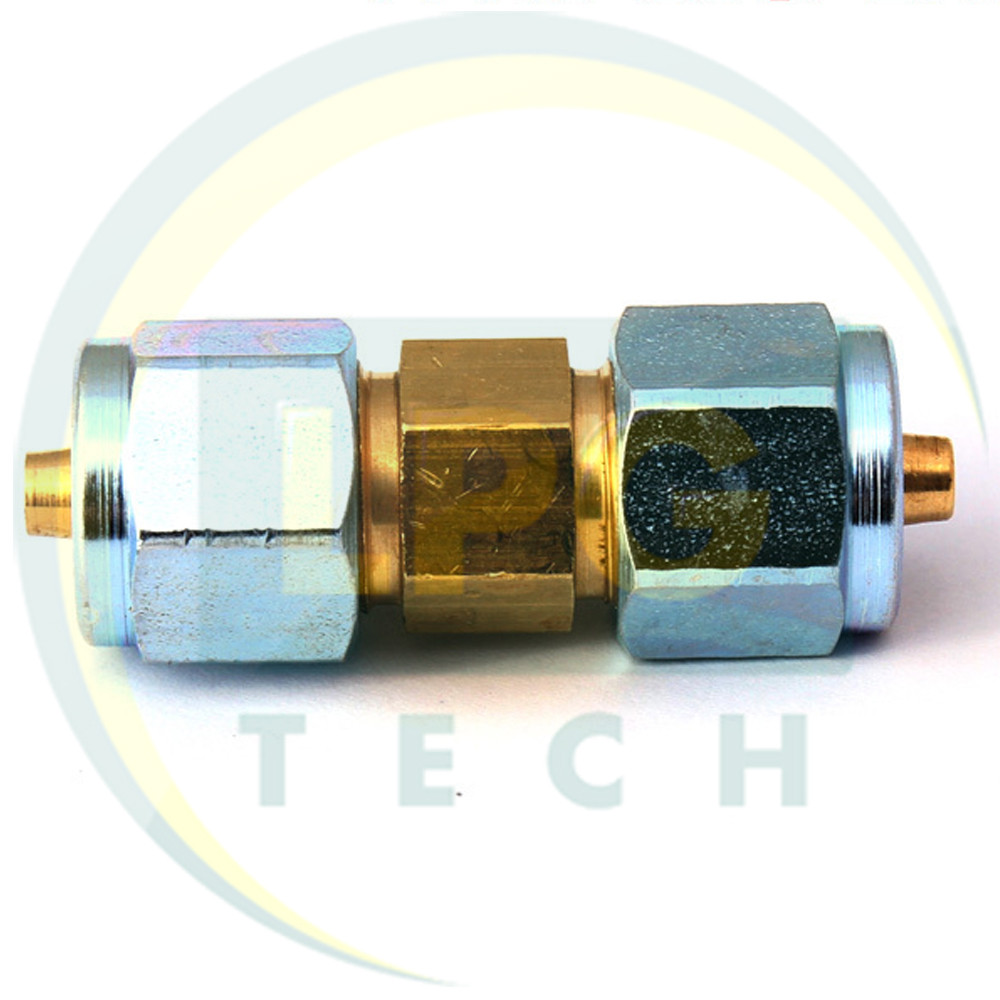 Соединитель  термопластиковой трубки D6 - D6