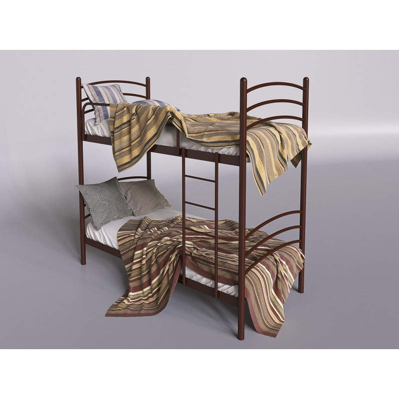 Кровать двухъярусная Тенеро Маранта Коричневый