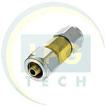 Переходник для термопластиковой трубки D6-D8
