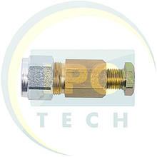 Переходник для трубки D8 (термопластик) - D6 (медь)