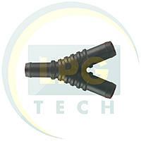 Тройник газовый Y-образный 11х11х11 мм пластик (TE.102)