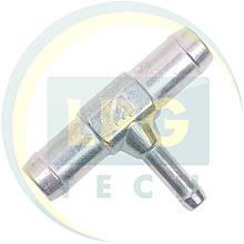Тройник тосольный ATIKER 16x16x8 мм