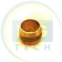 Ниппель D6 латунь (пропан) (GZ-234), фото 1