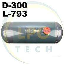 Баллон пропан цилиндрический Atiker 50 литров 300х795 мм