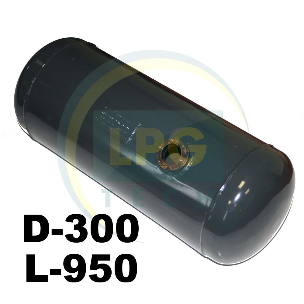 Баллон пропан цилиндрический Atiker 60 литров 300х950 мм