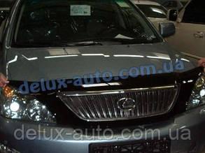 Мухобойка на капот Lexus RX II 300 330 350 2003-2009 Дефлектор капота на Лексус РХ 2003-2009