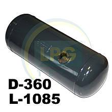 Баллон пропан цилиндрический Atiker 100 литров 360х1085 мм