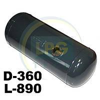 Баллон цилиндрический Atiker 80 литров 360х890 мм, фото 1