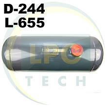 Баллон пропан цилиндрический Atiker 25 литров 244х655 мм