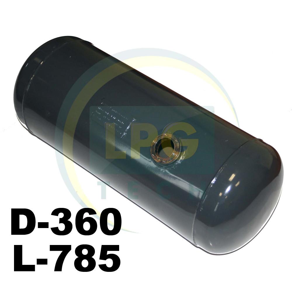 Баллон пропан цилиндрический Atiker 70 литров 360х785 мм