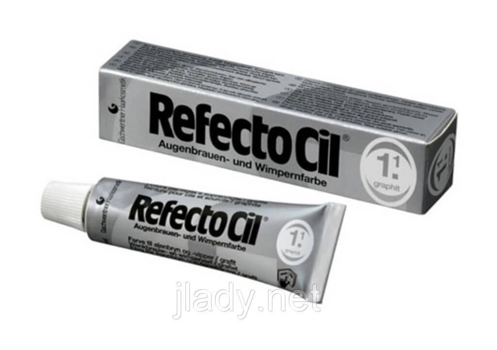 Краска REFECTOCIL для бровей и ресниц №1.1 Графит (15 мл)