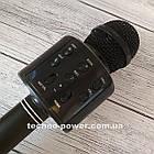 Караоке-микрофон bluetooth WS858. Портативный блютуз караоке микрофон, фото 4