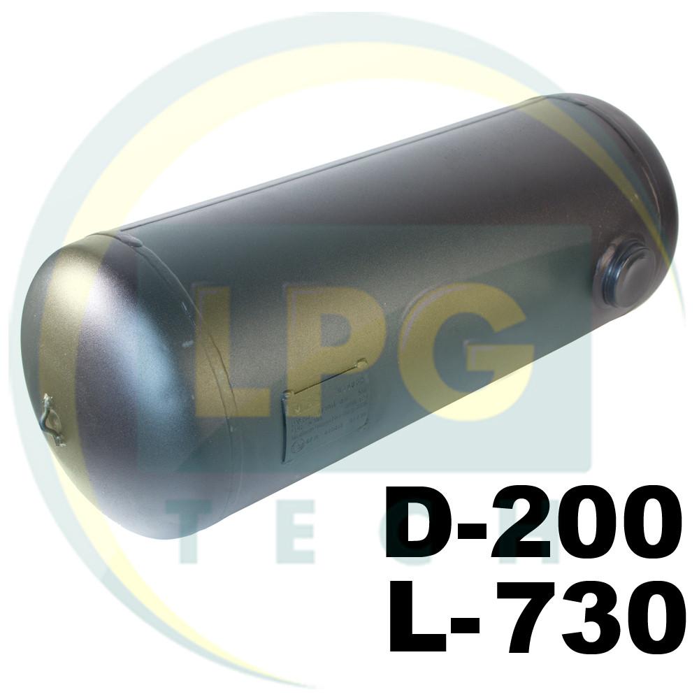 Баллон пропан цилиндрический 20 литров 200х730 мм Green Gas
