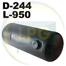 Баллон пропан цилиндрический 41 литр 244х950 мм Green Gas