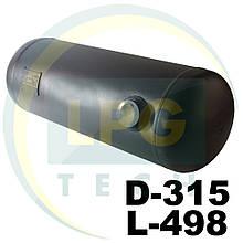 Баллон Green Gas цилиндрический 35 литров 315х498 мм