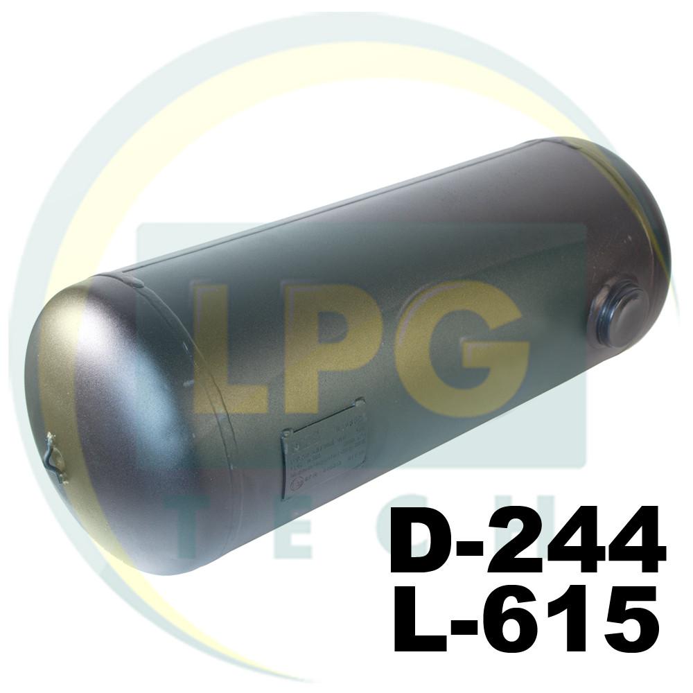 Баллон пропан цилиндрический 27 литров 244х615 мм Green Gas