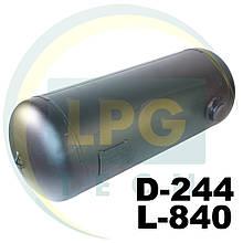 Баллон пропан цилиндрический 37 литров 244х840 мм Green Gas