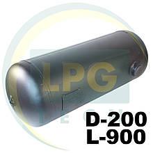 Баллон пропан цилиндрический 25 литров 200х900 мм Green Gas