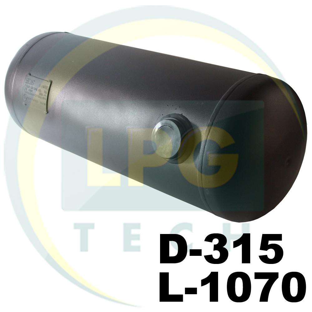 Баллон пропан цилиндрический 80 литров 315х1070 Green Gas