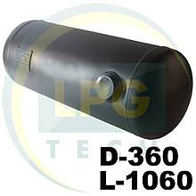 Баллон пропан цилиндрический 101 литр 360х1060 мм Green Gas