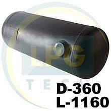 Баллон пропан цилиндрический 112 литров 360х1160 мм Green Gas