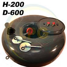 Балон пропан тороїдальний Atiker 43 літри 200х600 мм під запасне колесо