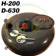 Баллон пропан Atiker 48 литров 200х630 мм под запасное колесо