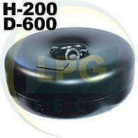 Баллон пропан тороидальный Novogas 42 литра (200х600 мм) под запасное колесо (ГЛИУ.280.00.00-03)