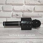 Караоке-микрофон bluetooth WS858. Портативный блютуз караоке микрофон, фото 7