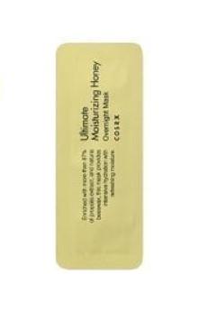 COSRX Ultimate Moisturizing Honey Overnight mask Увлажняющая ночная маска с прополисом