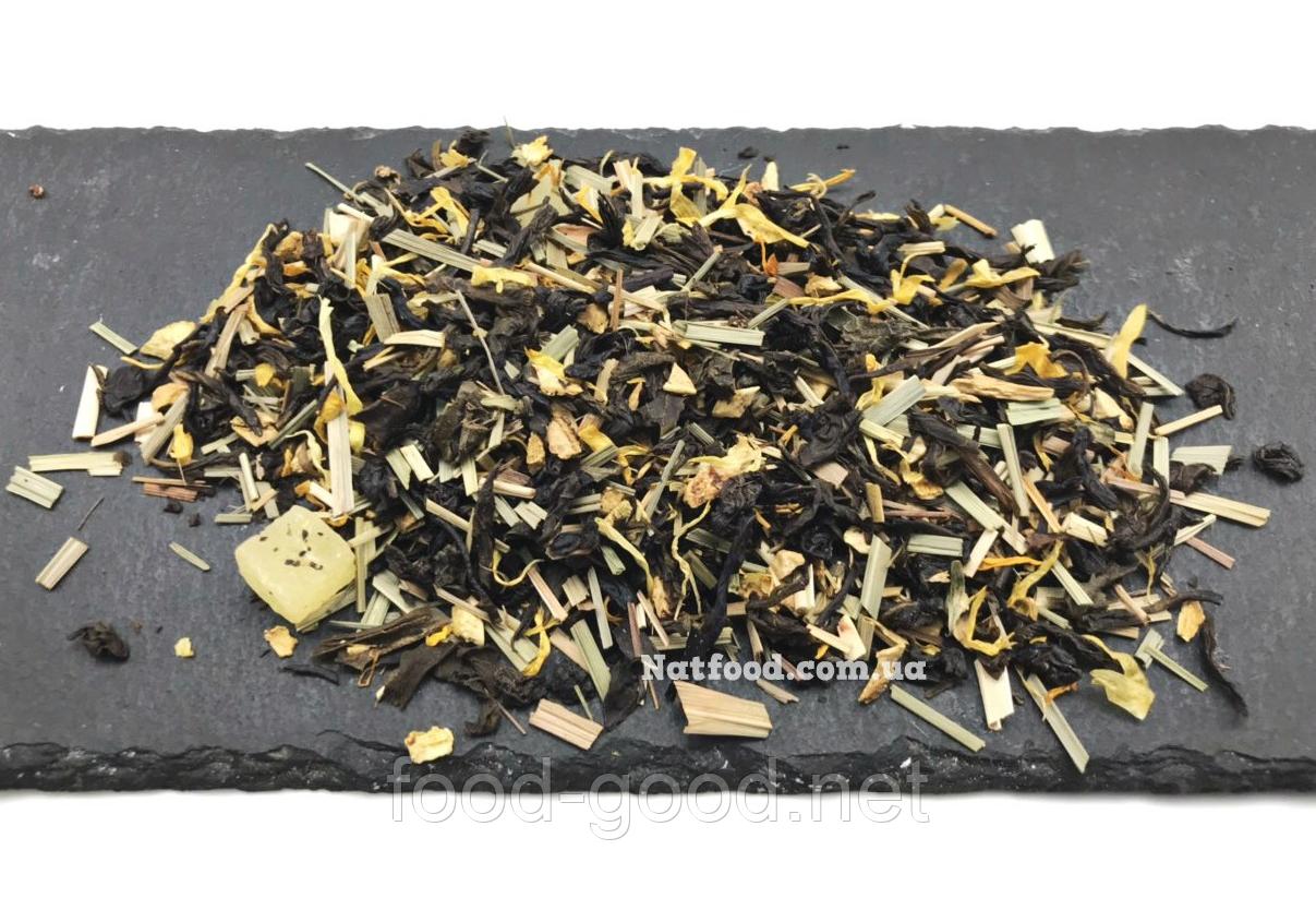 """Чай зеленый купаж """"Восточный лимон"""", 100г"""
