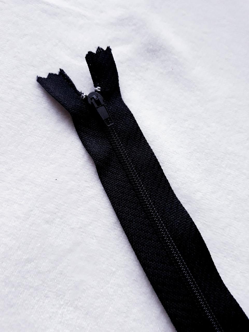 Молния 50 см  (СПИРАЛЬ Тип-3) цвет черный