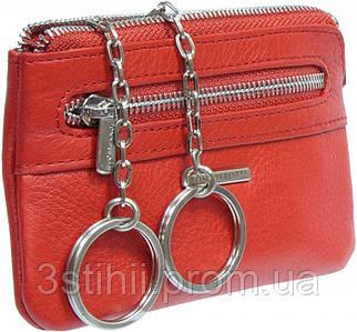 Ключница кожаная Tony Perotti New Contatto 359-NC rosso Красная