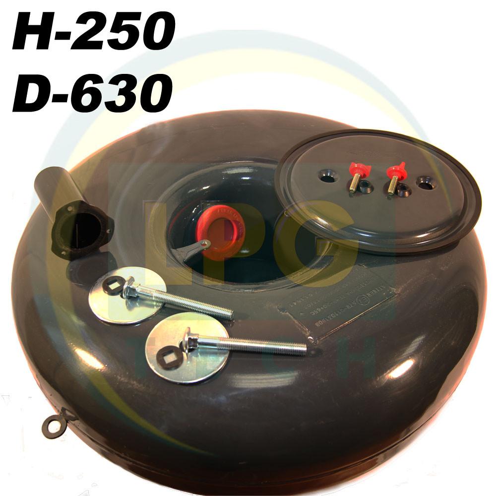 Баллон Atiker 62 литра 250х630 мм под запасное колесо