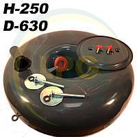 Баллон Atiker 62 литра 250х630 мм под запасное колесо, фото 1