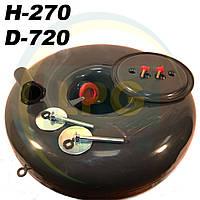 Баллон пропан Atiker 89 литров 270х720 мм под запасное колесо, фото 1