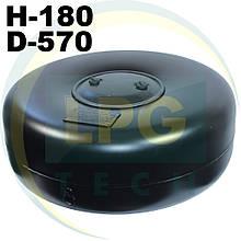 Тороїдальний балон 180х570 мм 34 л Green Gas