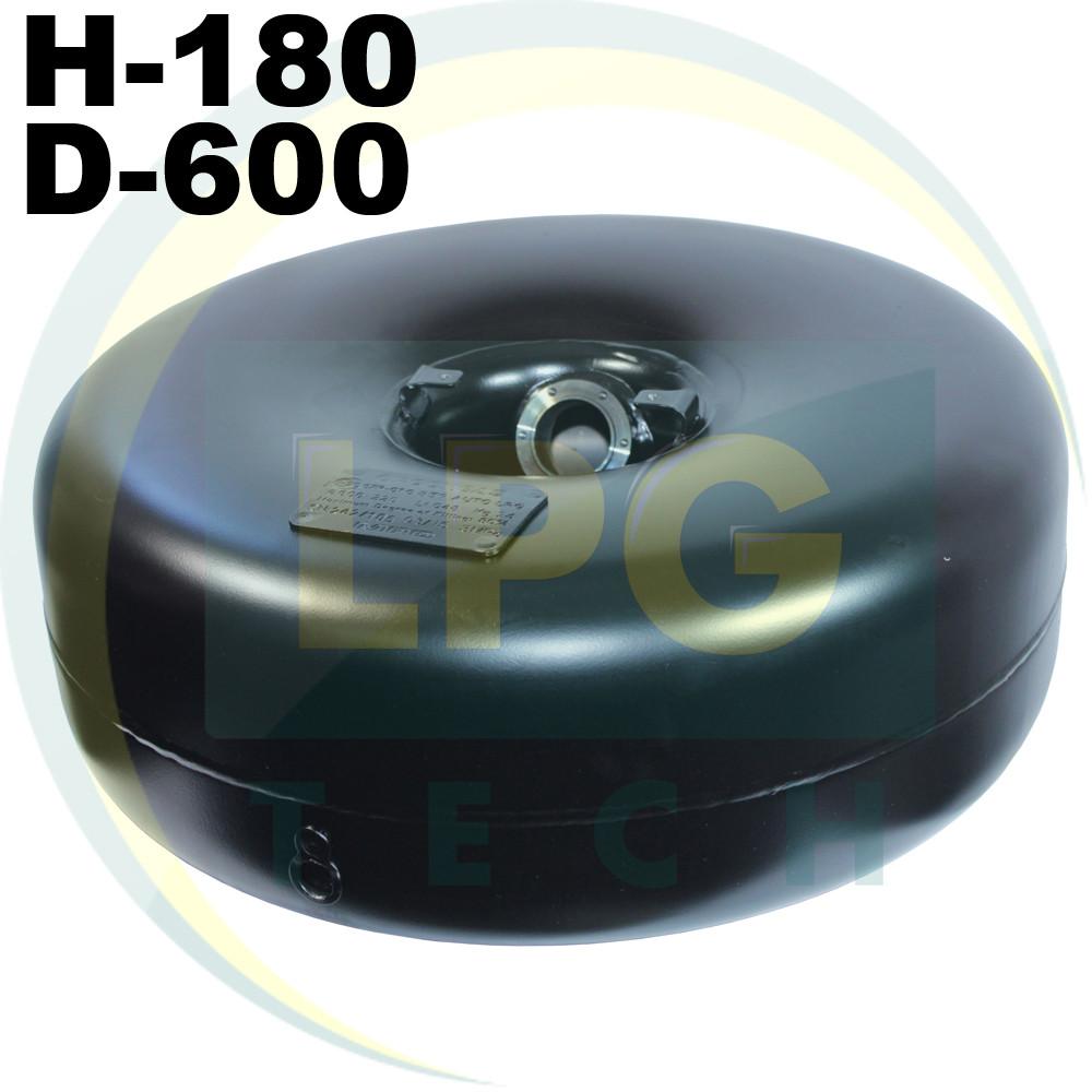 Тороидальный внутренний баллон Green Gas 180х600 мм 40 литров