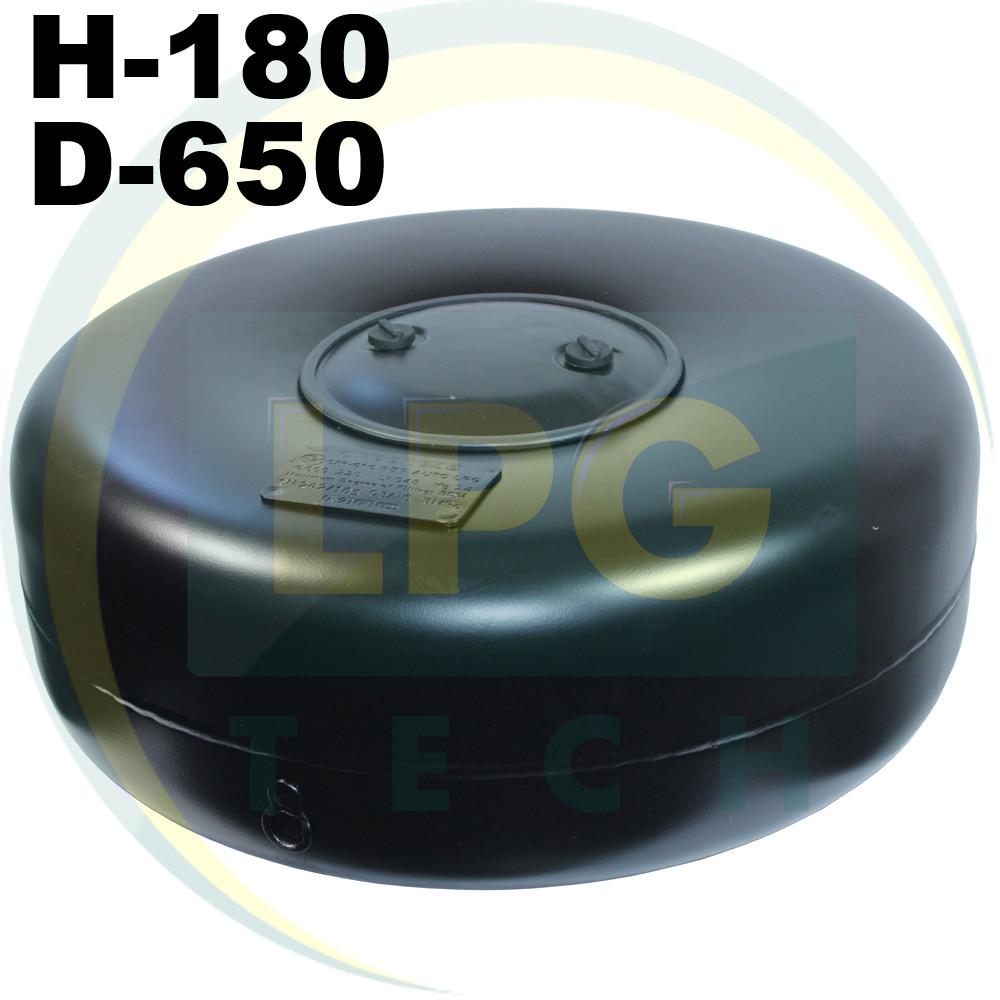Тороидальный баллон 180 х 650 мм 47 литров Green Gas
