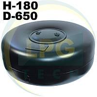 Тороидальный баллон 180 х 650 мм 47 литров Green Gas, фото 1