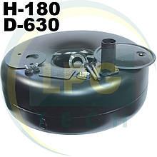 Тороїдальний балон 180х630 мм 44 літри Green Gas