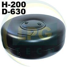 Тороїдальний балон 200х630 мм 48 літрів Green Gas